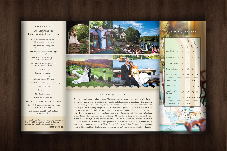 Weddings in Lake Toxaway Brochure | Samantha Priester